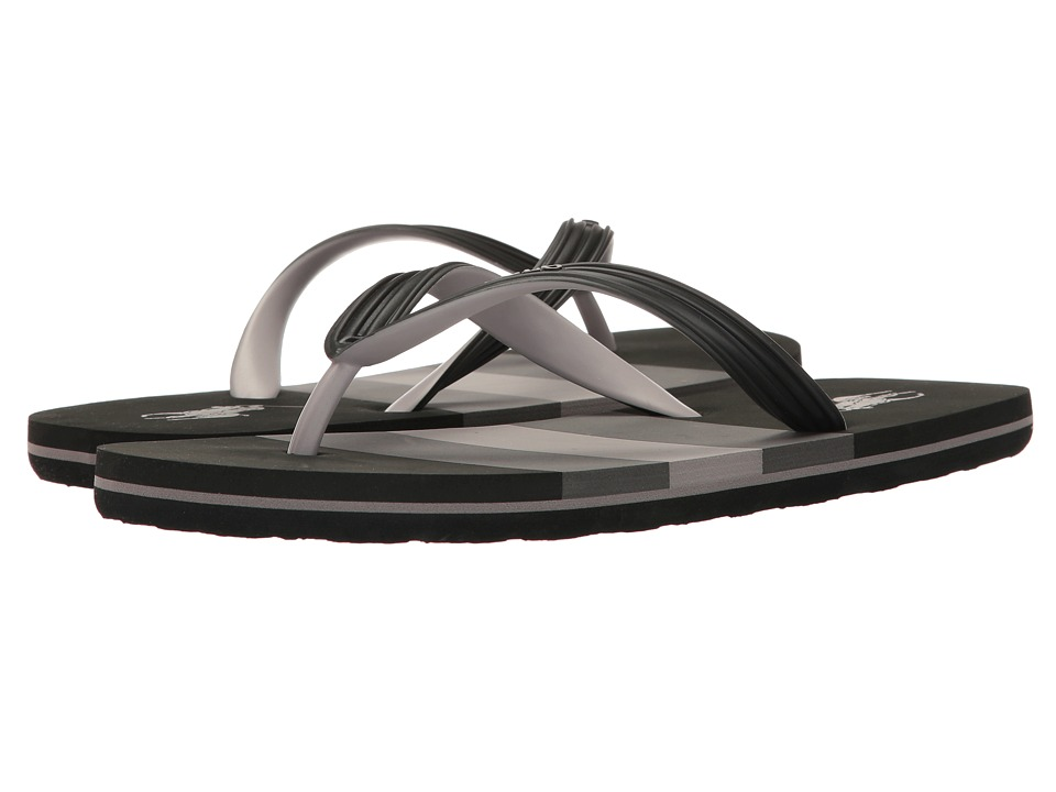 Polo Ralph Lauren - Whitlebury (Black Multi) Men's Sandals