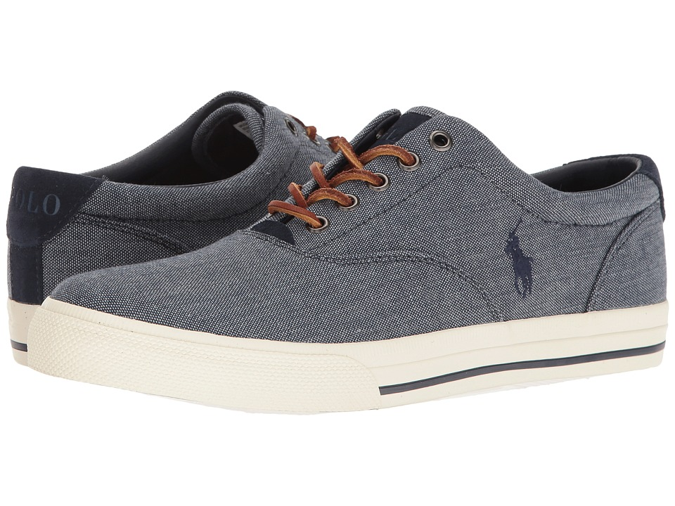 Polo Ralph Lauren - Vaughn (Blue) Men's Lace up casual Shoes