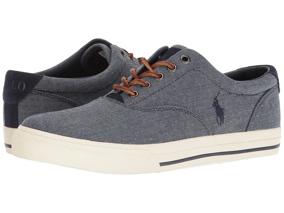 Polo Ralph Lauren - Vaughn (Blue) Men's Lace up casual Shoes