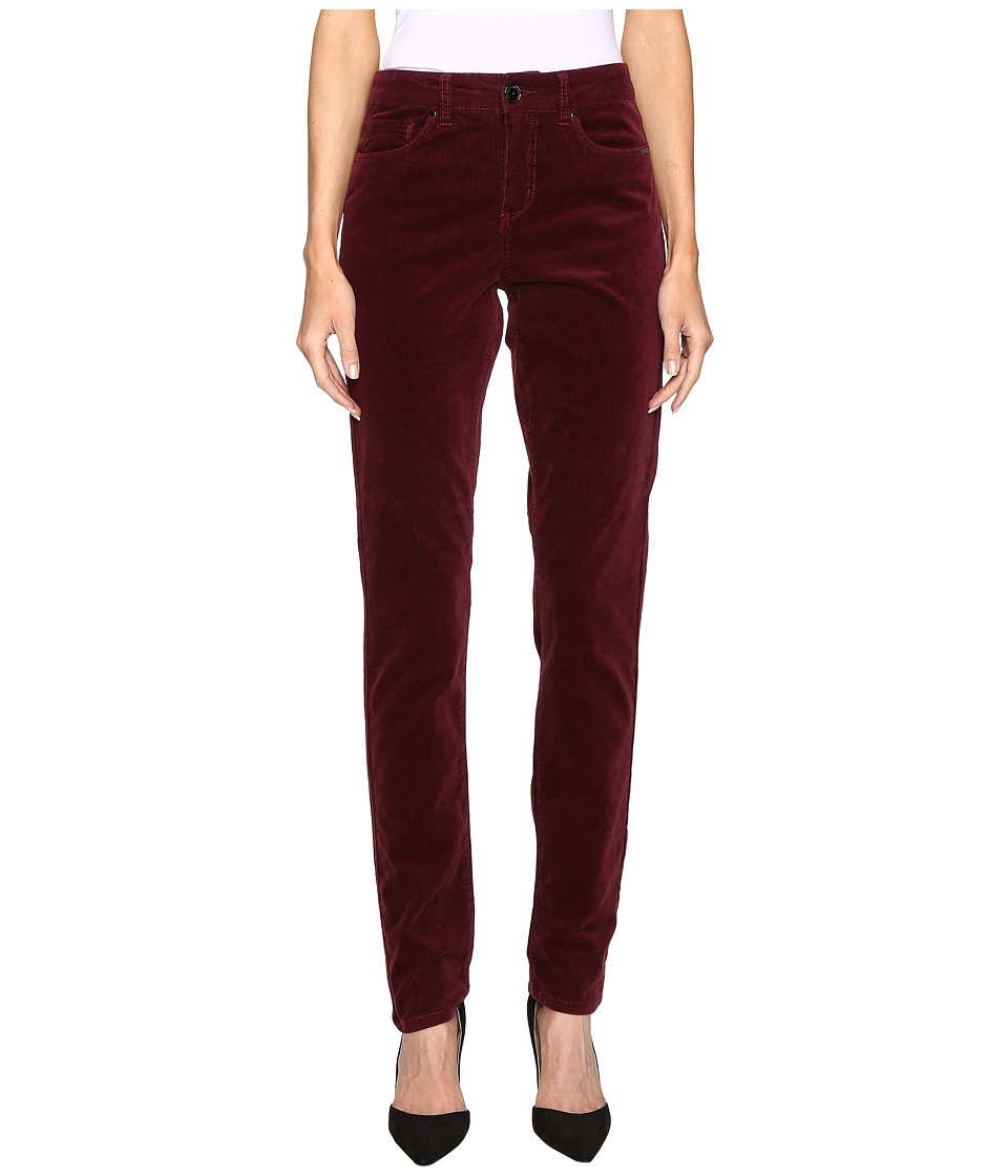 FDJ French Dressing Jeans - Olivia Slim Leg Plush Cord in Cabernet (Cabernet) Women's Jeans