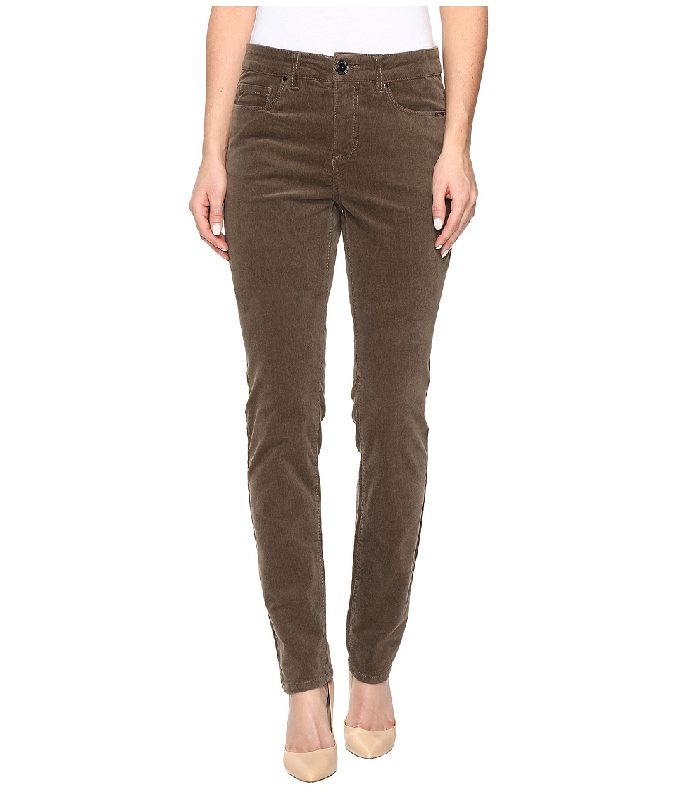 FDJ French Dressing Jeans - Olivia Slim Leg Plush Cord in Taupe (Taupe) Women's Jeans