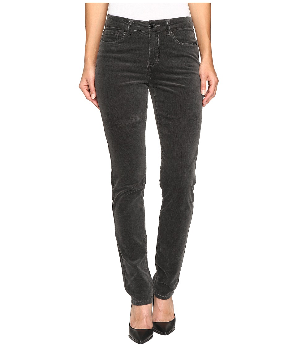 FDJ French Dressing Jeans - Olivia Slim Leg Plush Cord in Slate (Slate) Women's Jeans