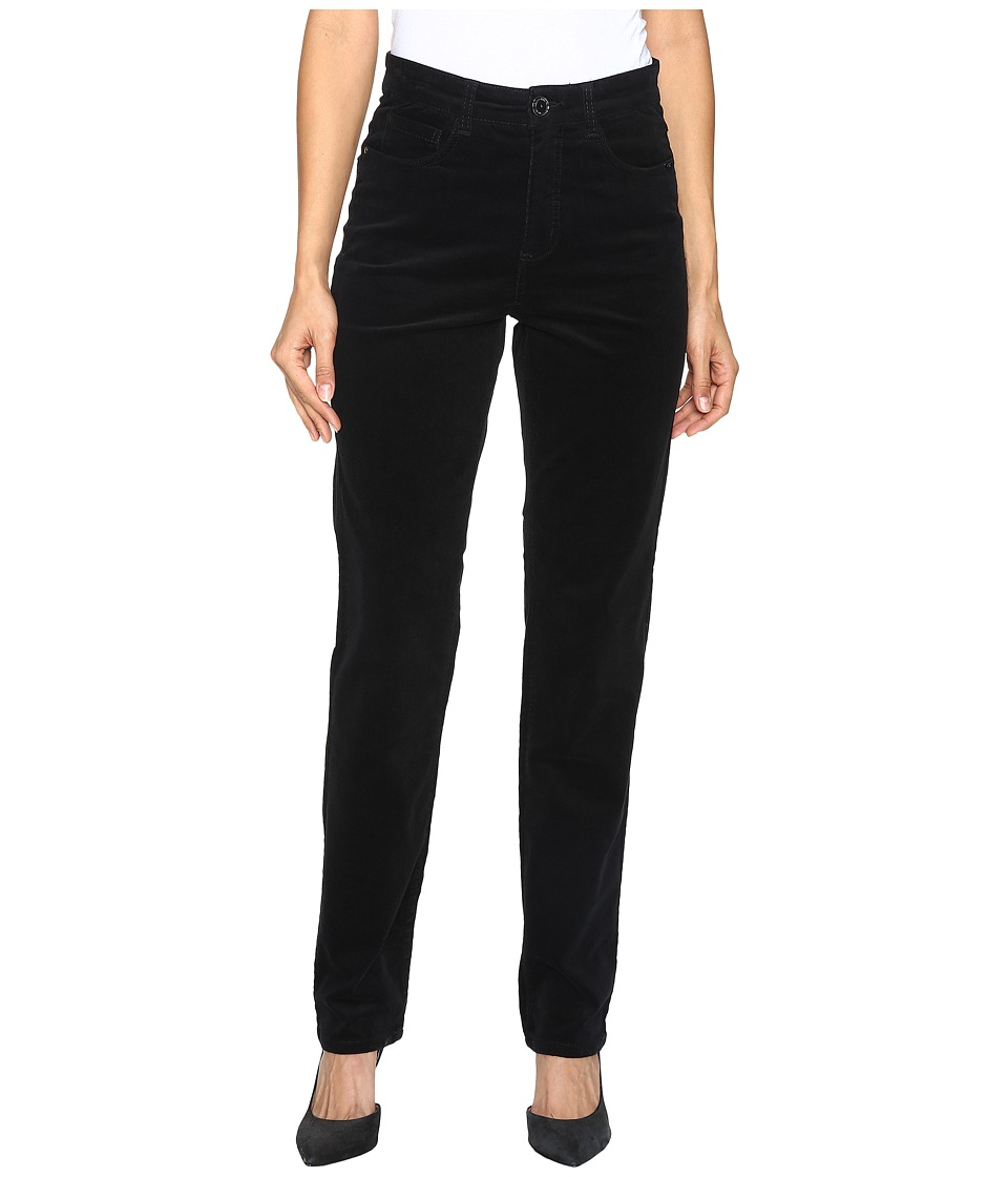 FDJ French Dressing Jeans - Suzanne Straight Leg Plush Cord in Black (Black) Women's Jeans
