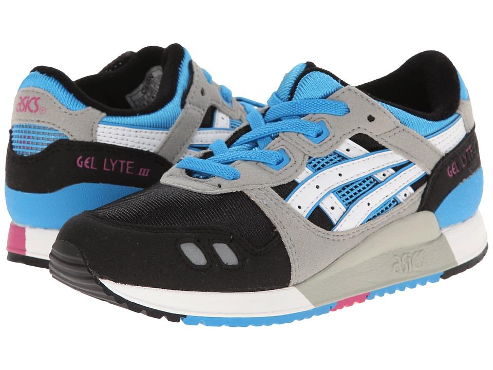 ASICS Kids - Gel-Lyte III PS (Toddler/Little Kid) (Black/White) Kid's Shoes