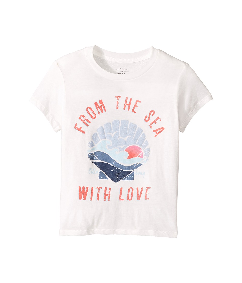 Billabong Kids - From the Sea Tee (Little Kids/Big Kids) (Cool Wip) Girl's T Shirt