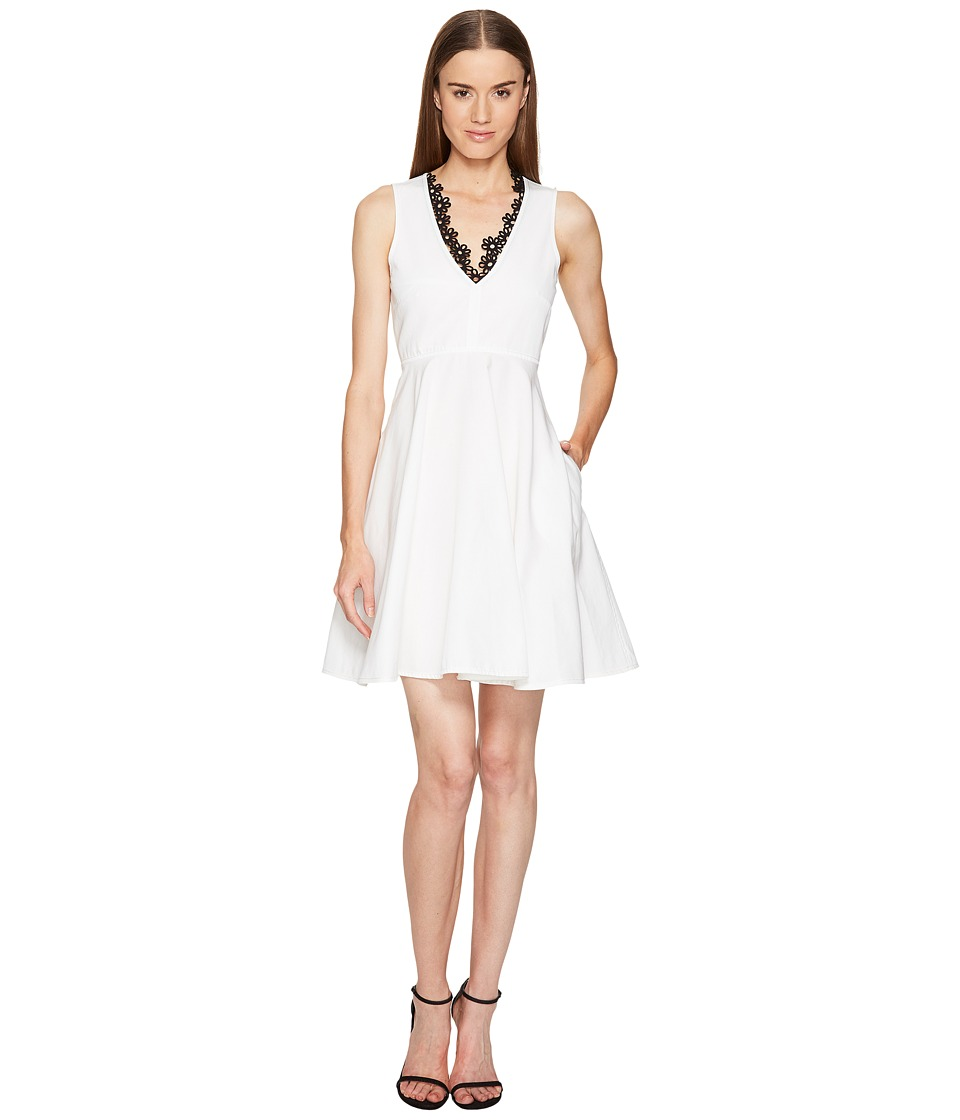 Sportmax Lauto V-Neck Flare Dress