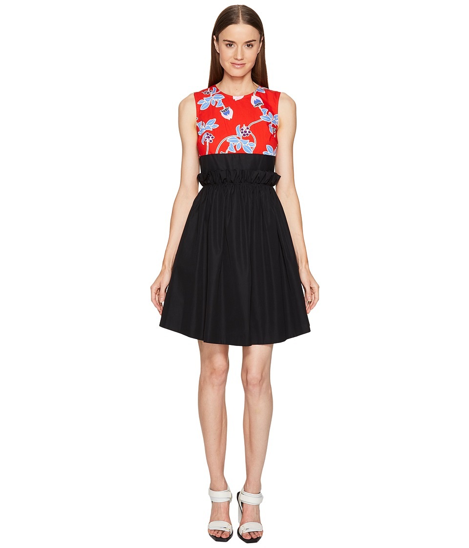 Sportmax - Murena Flare Dress (Red) Women's Dress