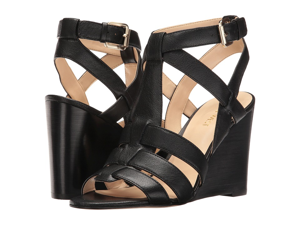 Nine West - Farfalla (Black Leather) Women's Shoes