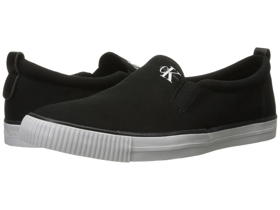 Calvin Klein Jeans - Armand (Black Canvas) Men's Shoes