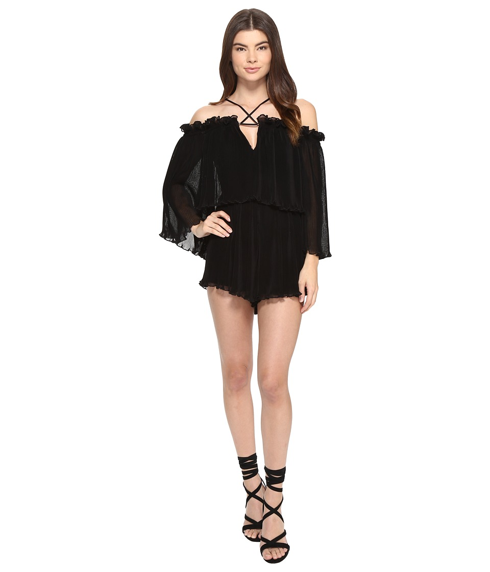 alice McCALL - Locomotion Playsuit (Black) Women's Jumpsuit & Rompers One Piece