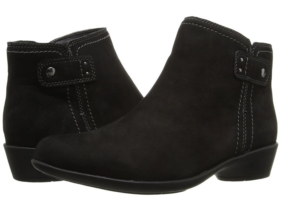 Rockport Newbury Natalie (Black Nubuck Leather) Women