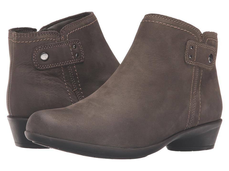 Rockport - Newbury Natalie (Dark Green Nubuck Leather) Women's Shoes