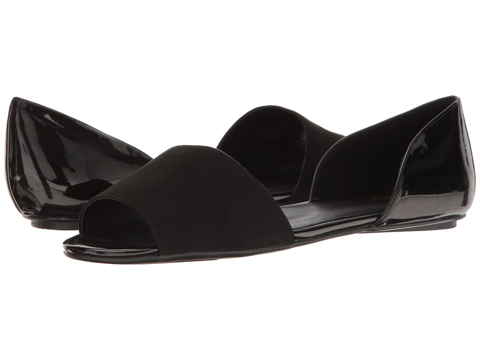 Nine West - Broken (Black/Black) Women's Flat Shoes