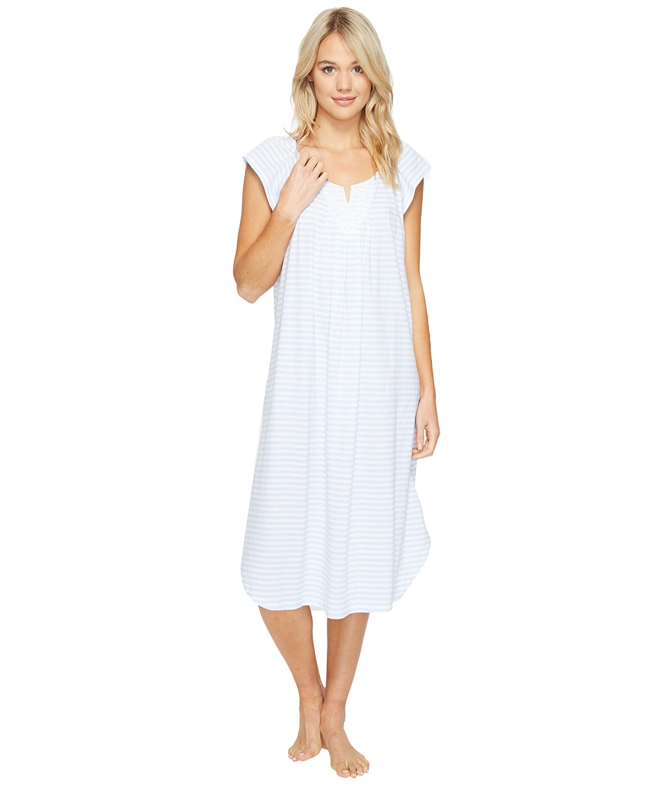Carole Hochman - Long Gown (Blue Stripe) Women's Pajama