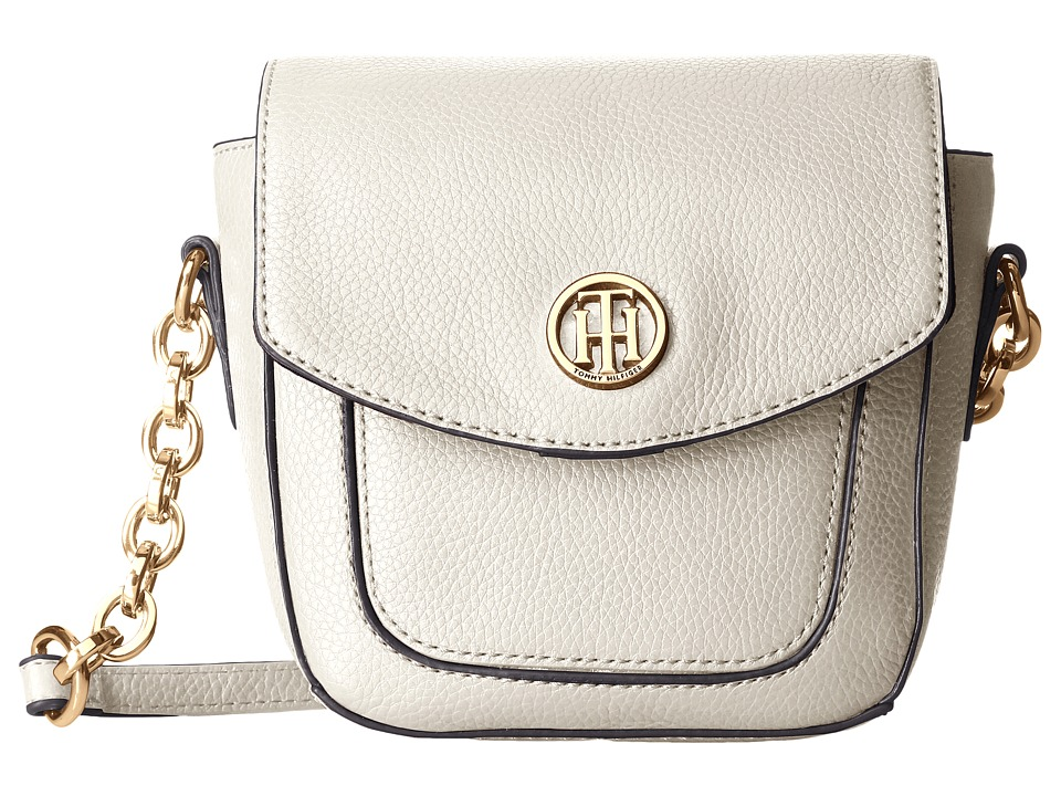 Tommy Hilfiger - Saddle Bag (Winter White) Handbags