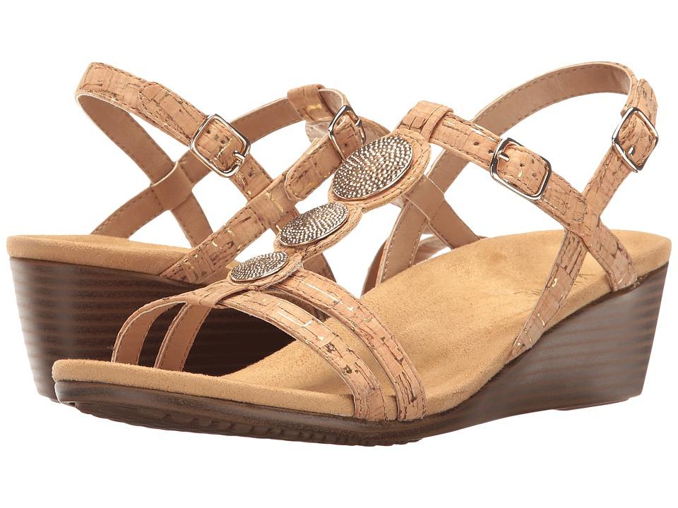 VIONIC - Noleen (Gold Cork) Women's Wedge Shoes