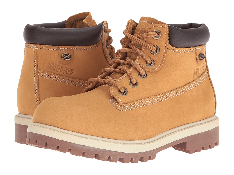 SKECHERS - Rager (Wheat) Women's Lace-up Boots
