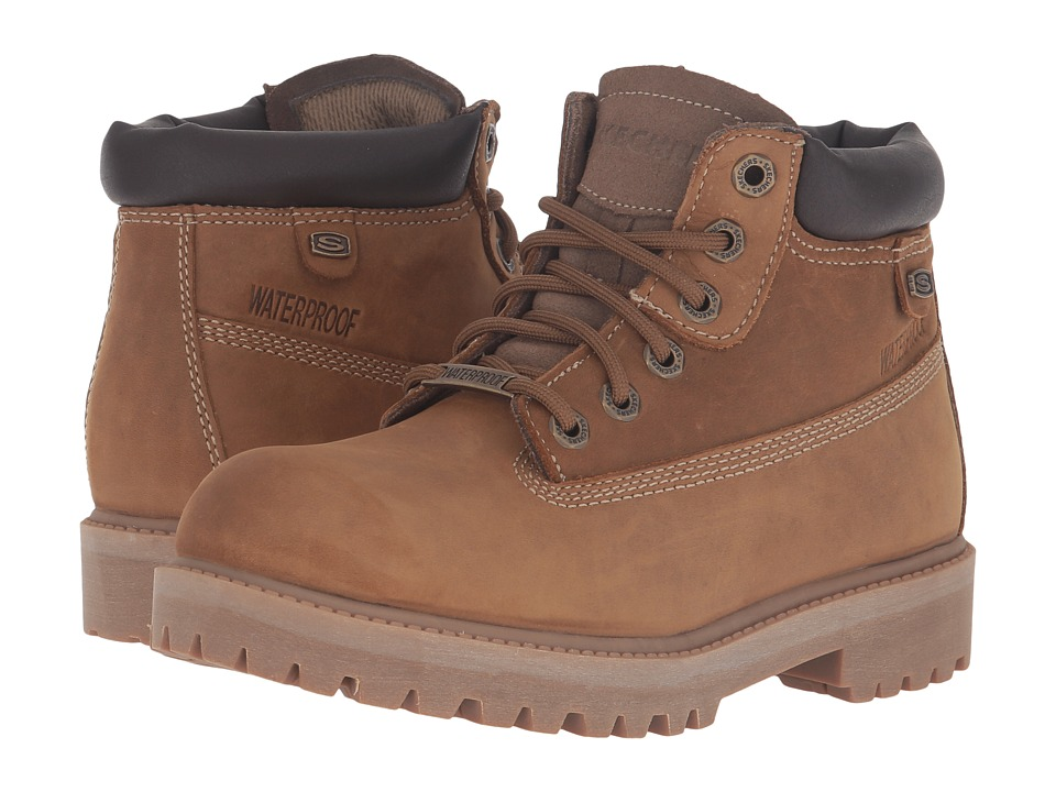 SKECHERS - Rager (Desert) Women's Lace-up Boots