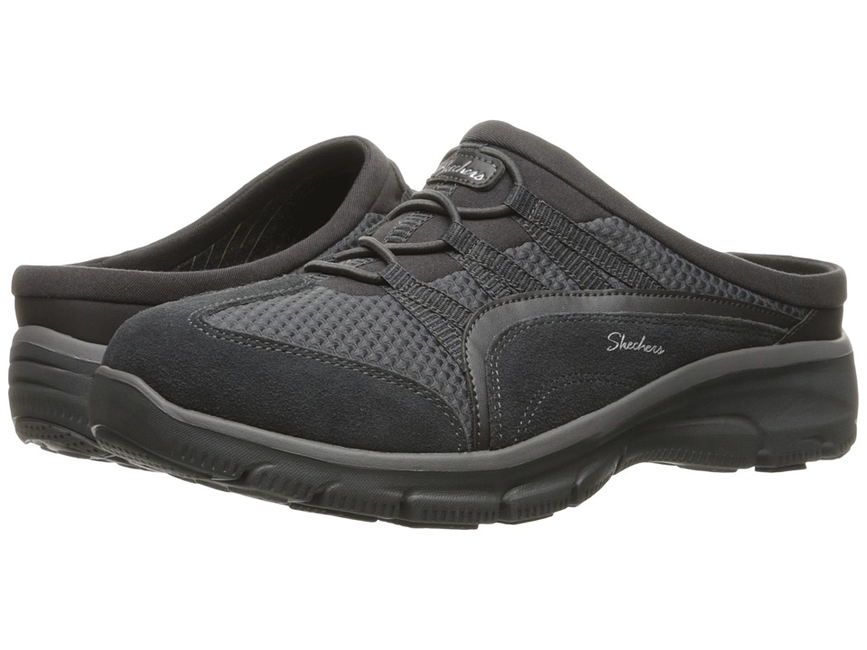 SKECHERS - Easy Going - Composure (Charcoal) Women's Slip on Shoes