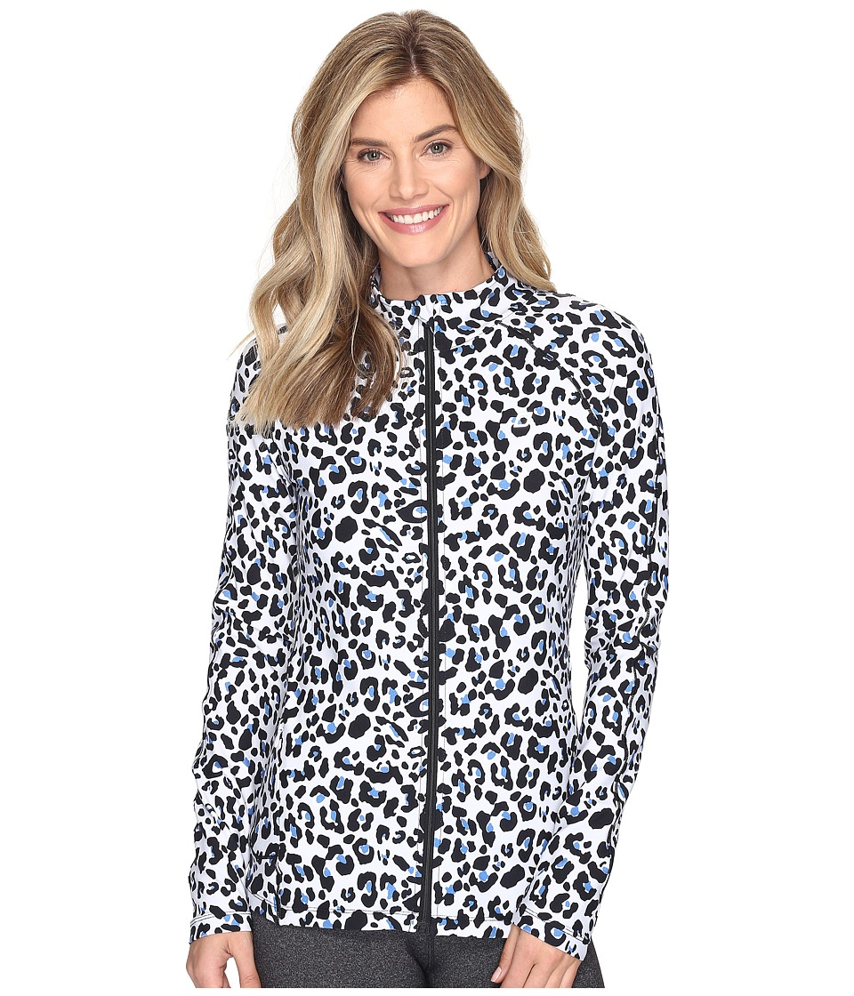 Lorna Jane - Cheetah Excel Zip Through (Animal Print) Women's Coat