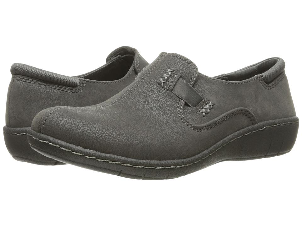 SKECHERS - Washington - Ellensburg (Charcoal) Women's Slip on Shoes