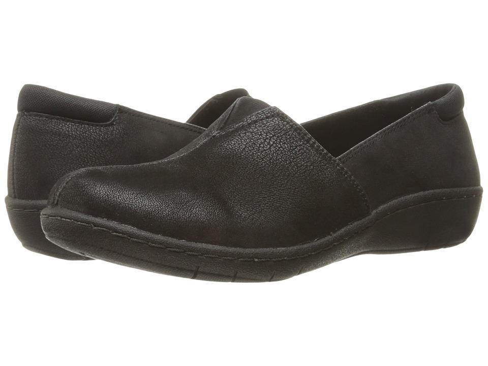 SKECHERS - Washington - Tacoma (Black) Women's Slip on Shoes