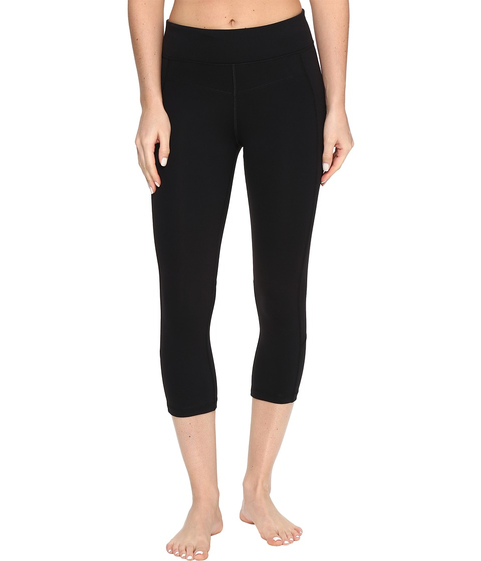 Lorna Jane - Ultimate Support 7/8 Tights (Black) Women's Casual Pants