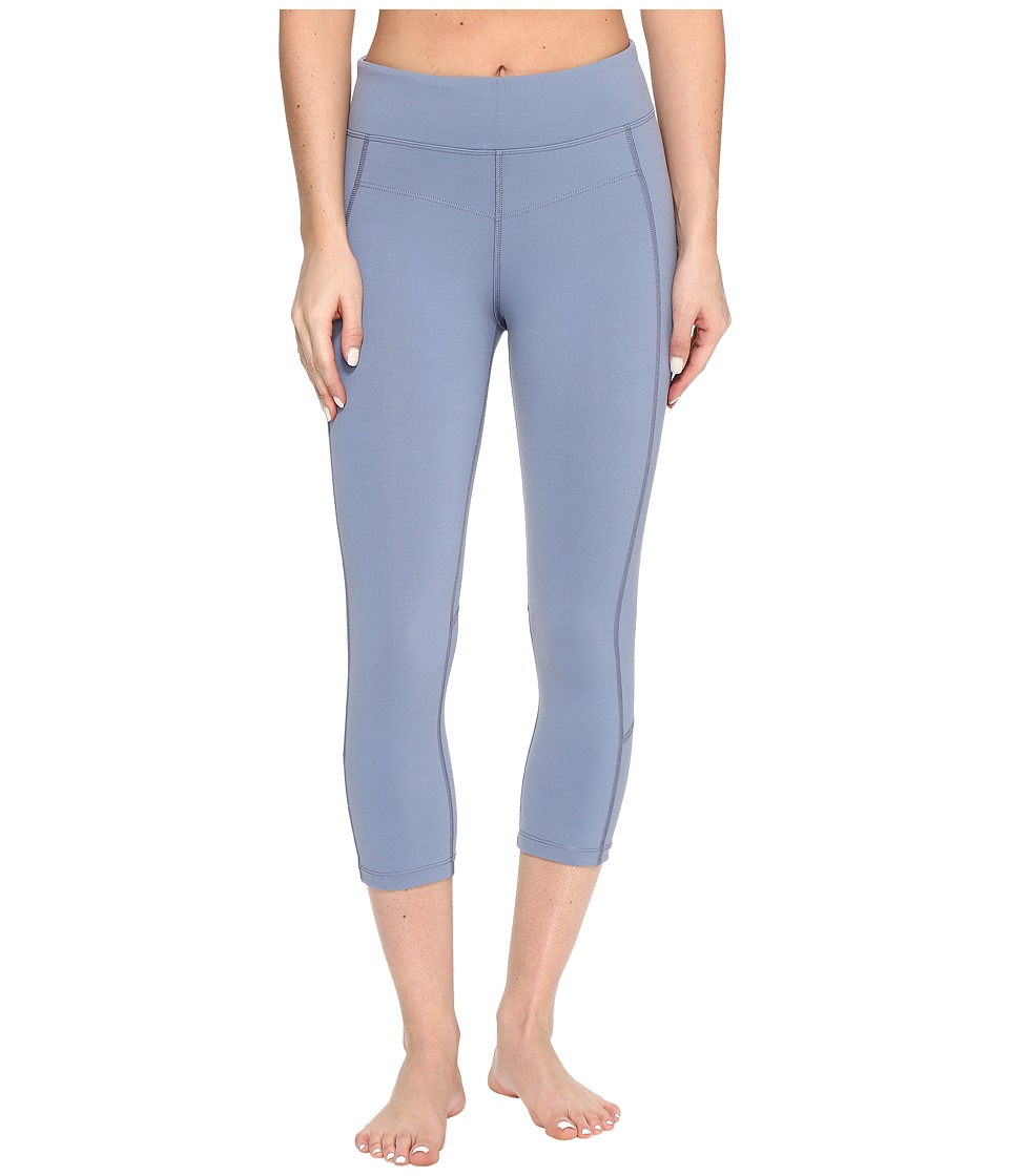 Lorna Jane - Ultimate Support 7/8 Tights (Powder Grey) Women's Casual Pants