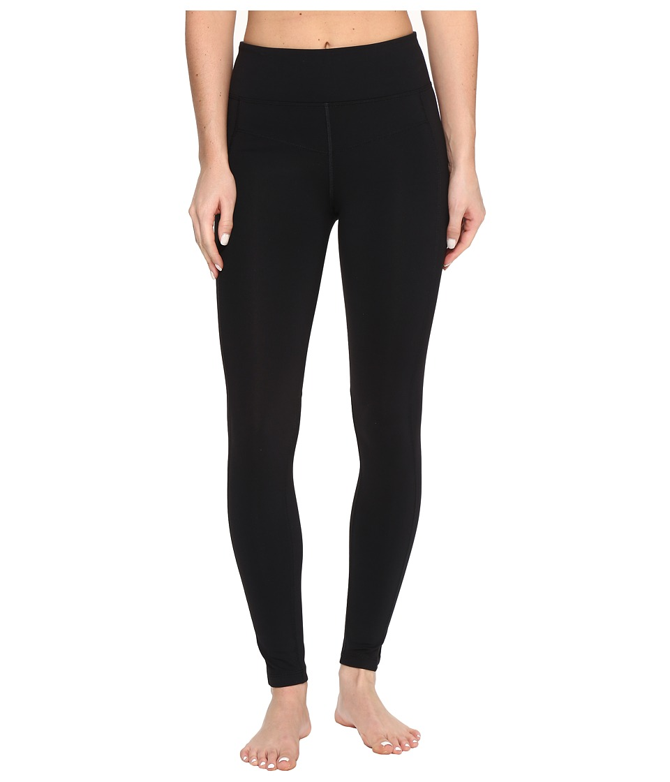 Lorna Jane - Booty Support F/L Tights (Black) Women's Casual Pants