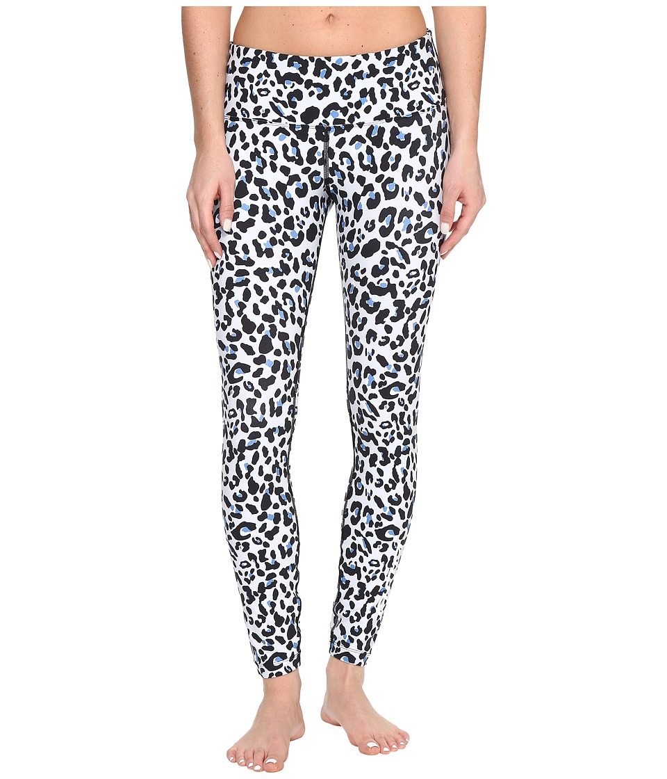 Lorna Jane - Cheetah Core F/L Tights (Animal Print) Women's Casual Pants