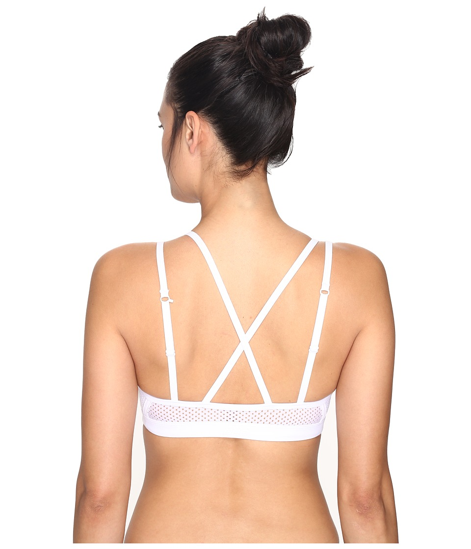 Lorna Jane - Dallas Sports Bra (White) Women's Bra
