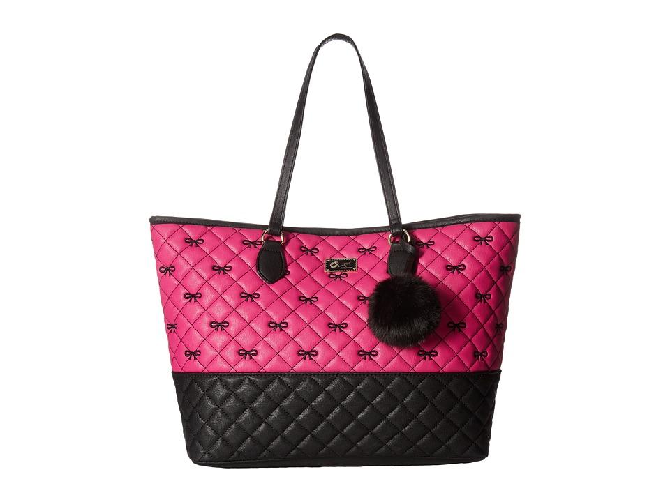 Luv Betsey - Sarah Tote (Pink) Tote Handbags