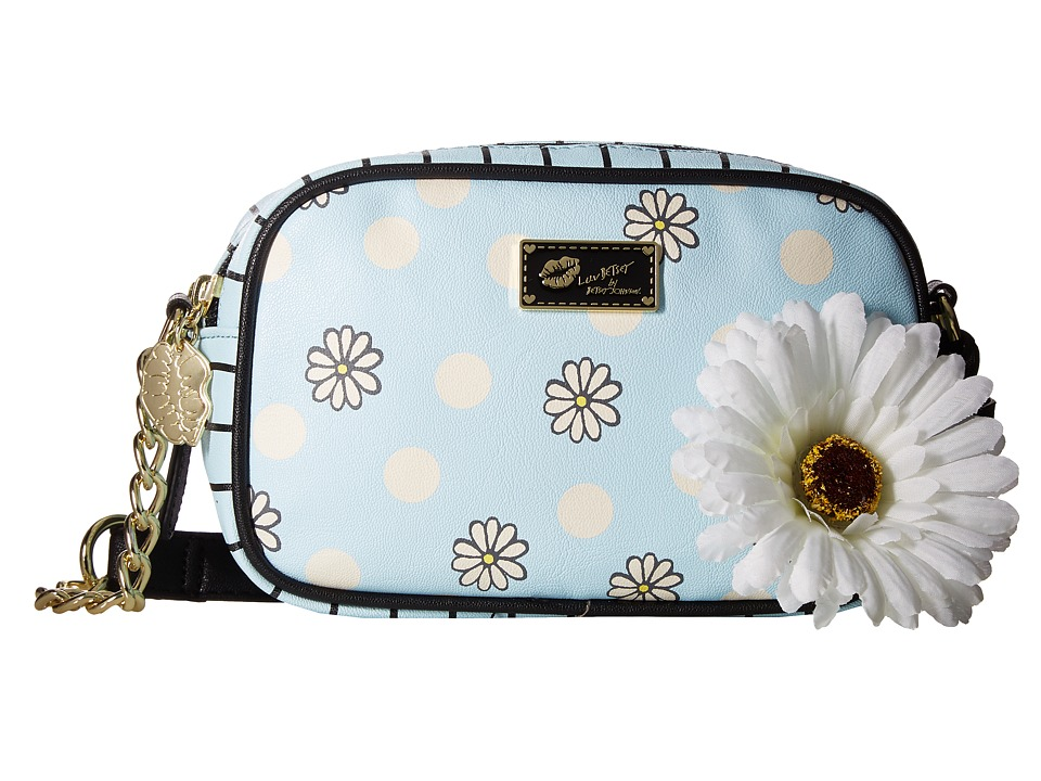 Luv Betsey - Deena Crossbody (Blue Dot) Cross Body Handbags