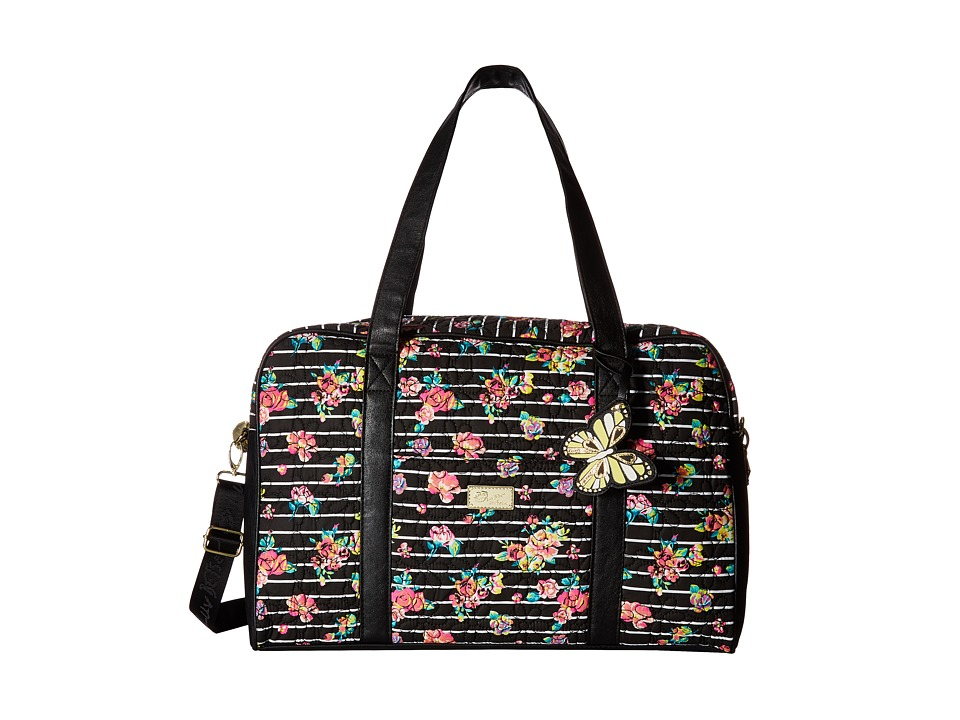 Luv Betsey - Cruizn Cotton Quilted Weekender (Floral) Weekender/Overnight Luggage
