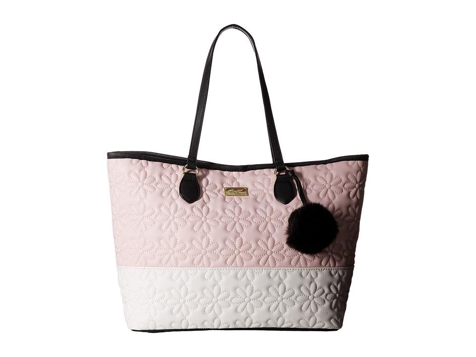 Luv Betsey - Sarah Tote (Blush) Tote Handbags