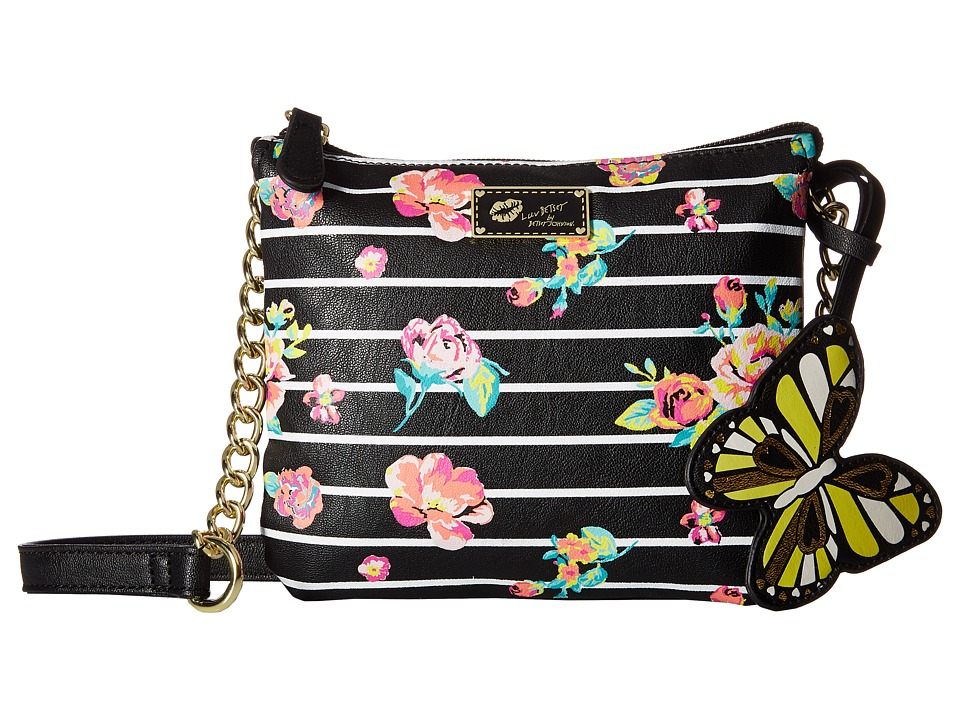 Luv Betsey - Double Crossbody (Floral) Cross Body Handbags