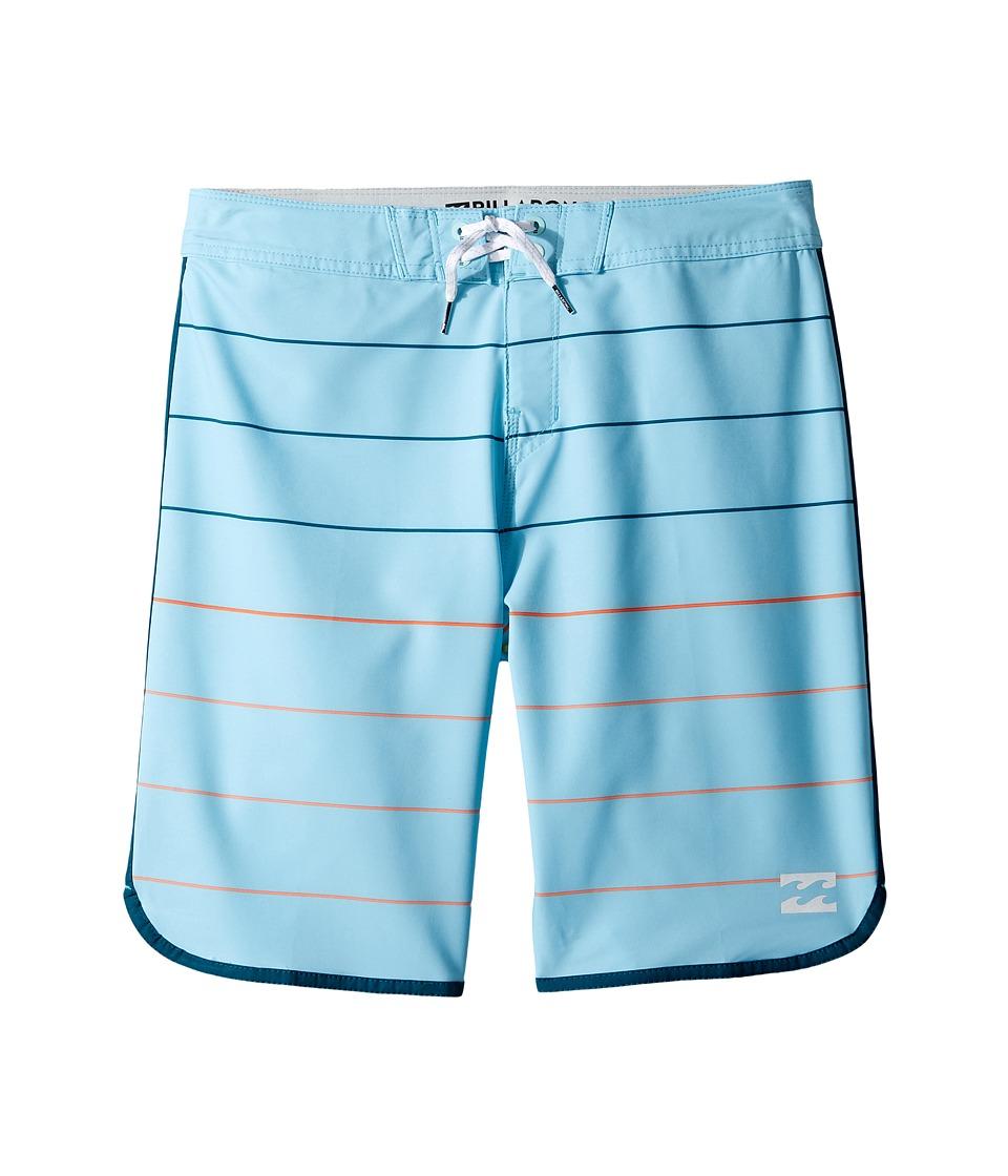 Billabong Kids - 73 X Stripe (Big Kids) (Blue) Boy's Swimwear