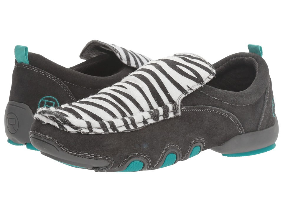 Roper - Bailey (Zebra/Grey) Women's Shoes