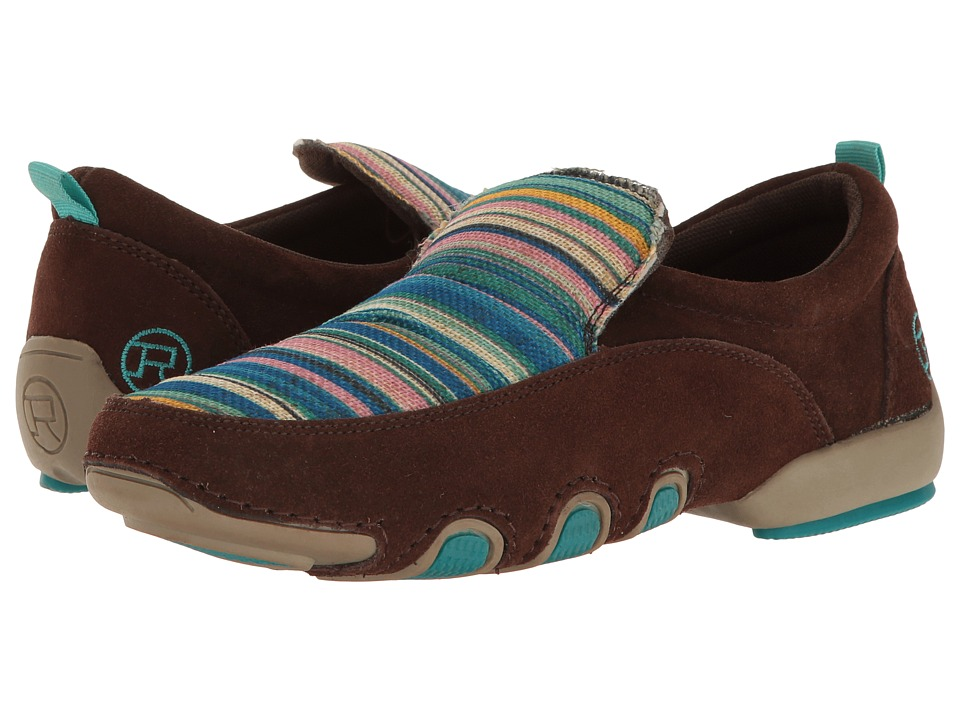 Roper - Bailey (Turquoise Multi/Brown) Women's Shoes