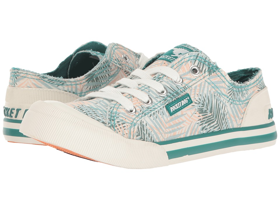 Rocket Dog Jazzin (Green Jungle Palm) Women
