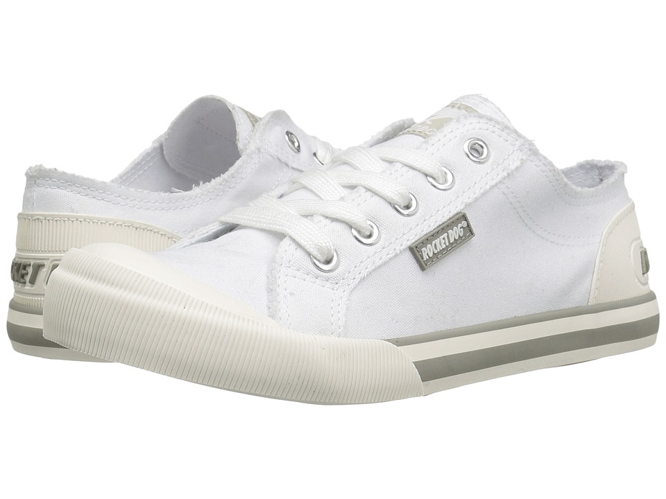 Rocket Dog - Jazzin (White 8A Canvas) Women's Lace up casual Shoes