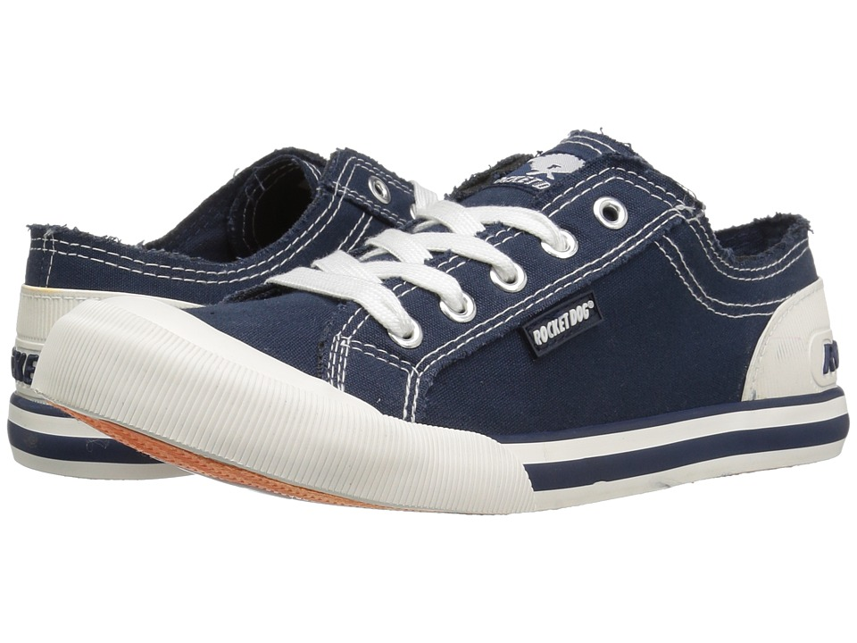 Rocket Dog - Jazzin (Navy 8A Canvas) Women's Lace up casual Shoes