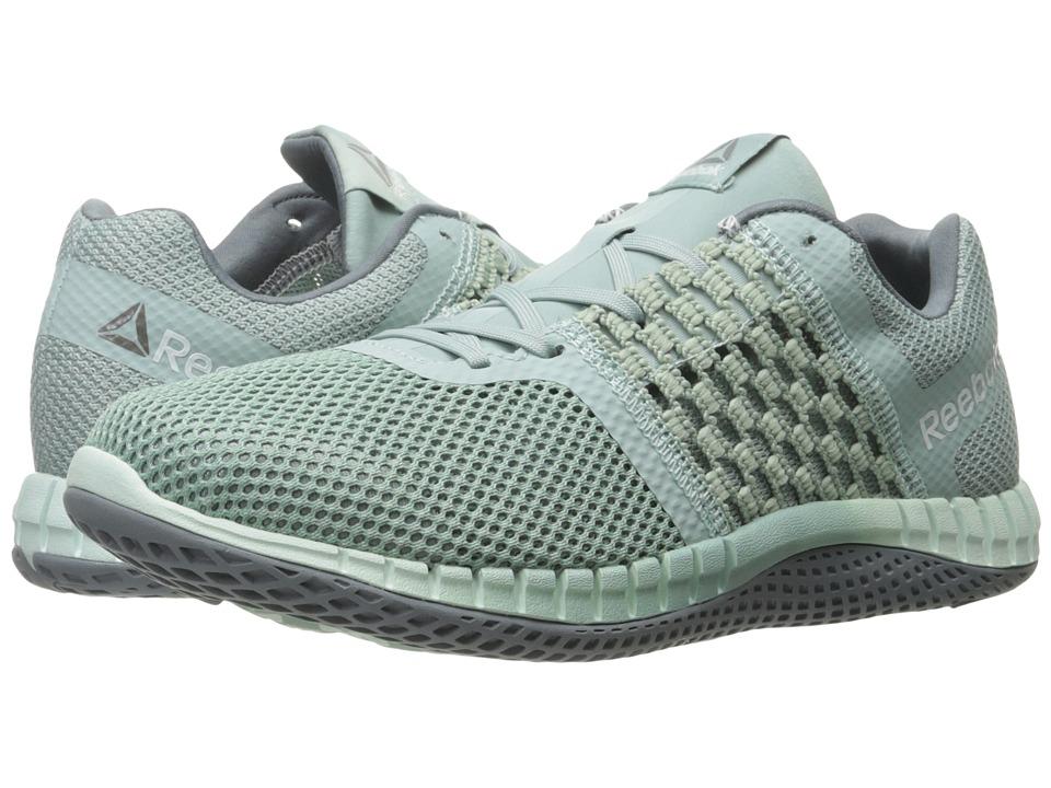 Reebok - ZPrint Run (Seaside Grey/Mist) Women's Shoes