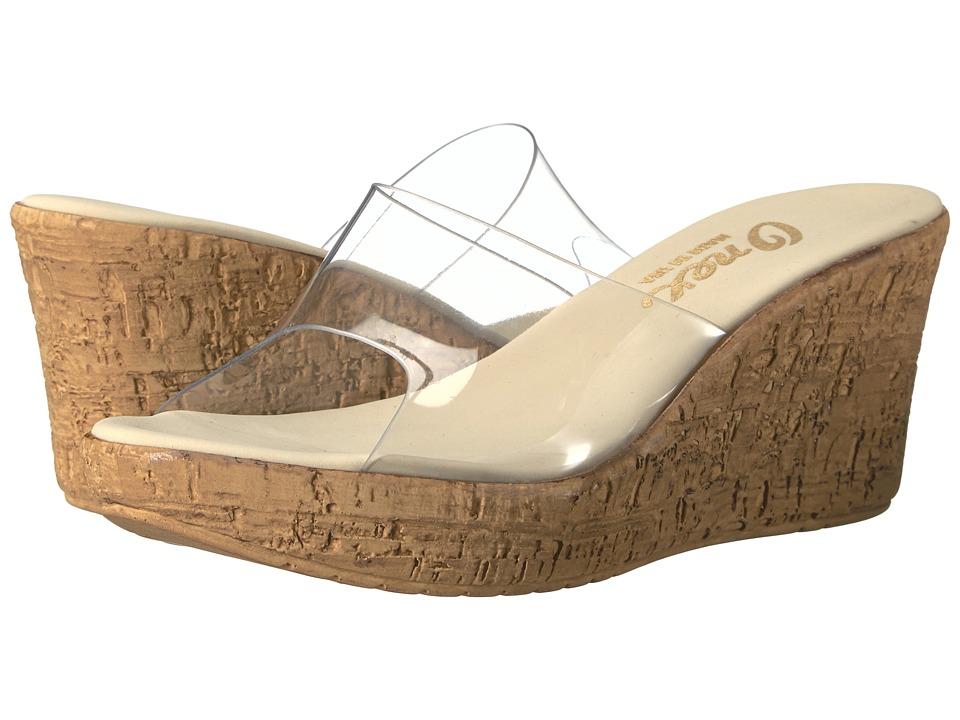 Onex - Quartz (Clear Lucite) Women's Sandals