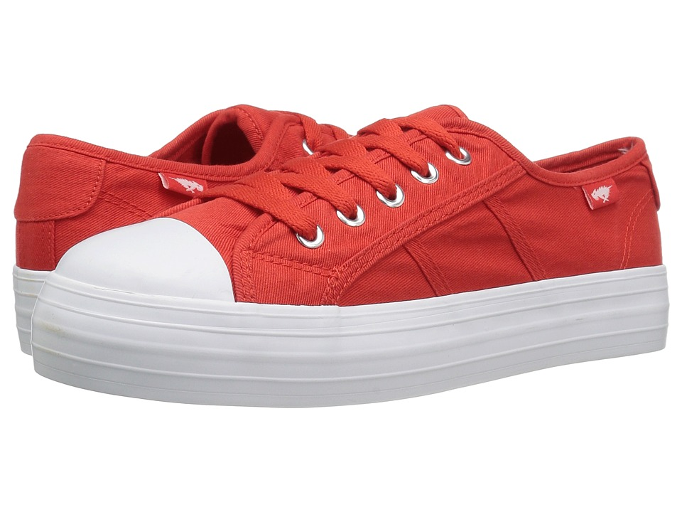 Rocket Dog - Magic (Red Beach Canvas) Women's Lace up casual Shoes