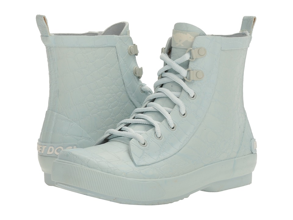 Rocket Dog - Rainy (Pale Blue Nevada Emboss) Women's Boots