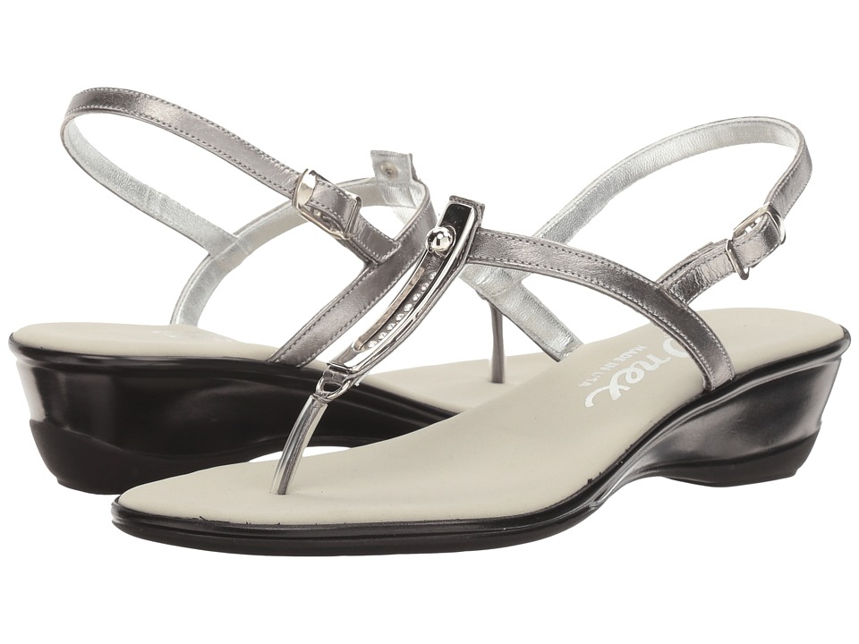 Onex - Valencia (Pewter Leather) Women's Sandals