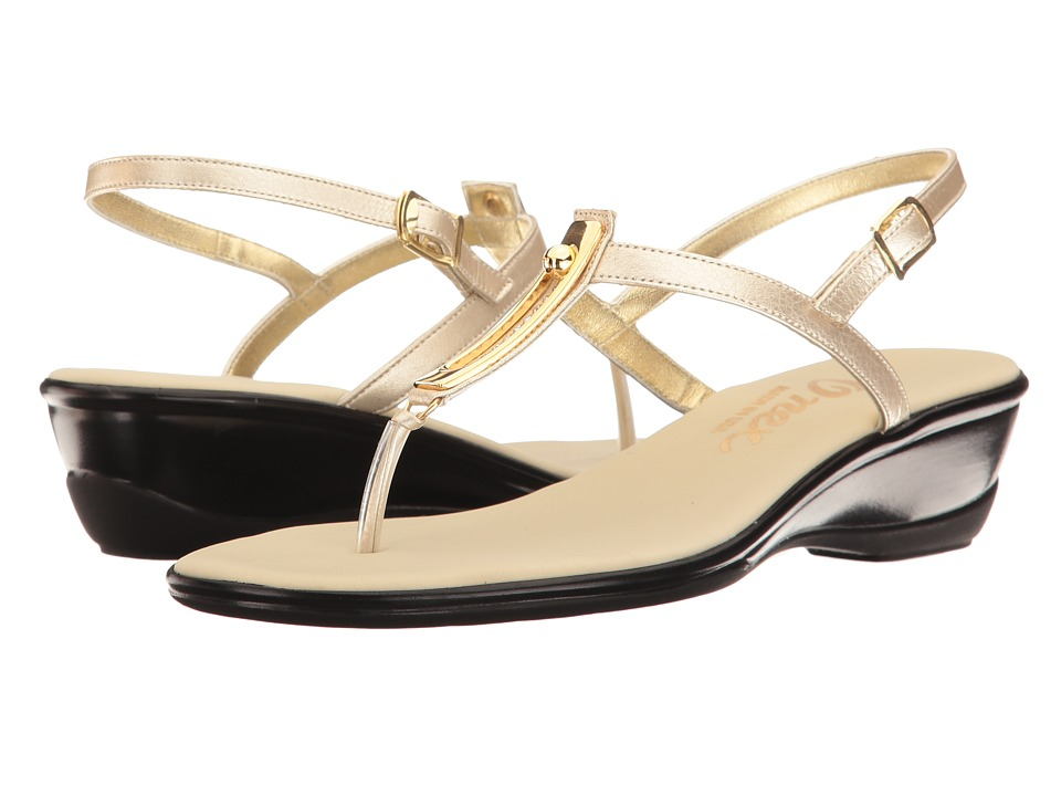 Onex - Valencia (Platinum Leather) Women's Sandals