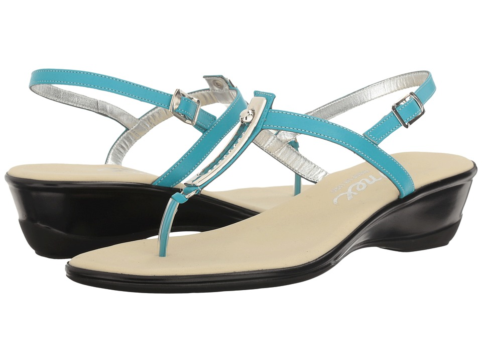Onex - Valencia (Turquoise Leather) Women's Sandals