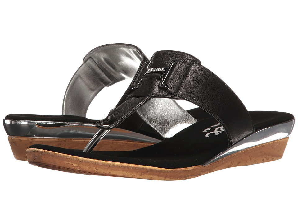 Onex - Harriet (Black/Silver) Women's Sandals